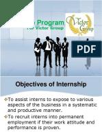 Internship Program Victor Group