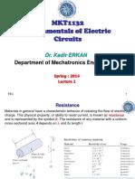 Fundamentals Od Electric Circuits 2