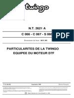 Twingo MR D7F