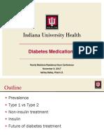 diabetes medications nov 3 2017