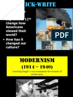 Modernism Intro