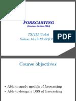 w004-05 SCM Forecasting