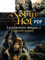 Assassin Royal tome 1 L'Apprenti Assassin  Robin Hobb