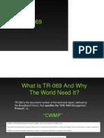 TR 069 Presentation