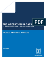 The Operation in Gaza