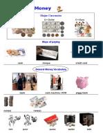 Money Basic Knowledge Classroom Posters Picture Description Exercises Pi 95678