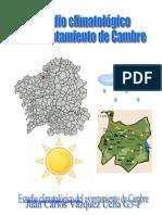 Estudio climatológico de Cambre (A Coruña, España)