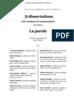 PHILO 20 Dissertations