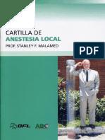 Cartilla de Anestesia Local