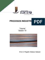 Procesos Industriales Sesión 10