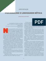 Psicanalise e linguagem mítica.pdf