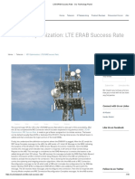 LTE ERAB Success Rate - Our Technology Planet