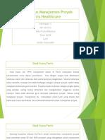 Studi Kasus Manajemen Proyek Feris