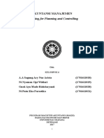 Budgeting for Planning and Controlling.doc