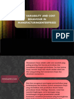 cost VARIABILITY AND COST BEHAVIOUR IN MANUFACTURINGENTERPRISES.ppt