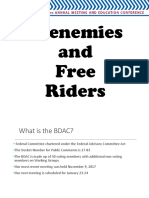 Frenemies and Free Riders