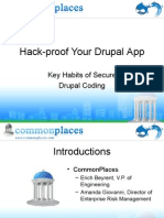 Hack-Proof Your Drupal App