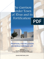 THE GARRISON BORDER TOWN OF ELVAS AND ITS FORTIFICATIONS