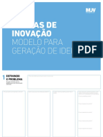 Canvas de Inovacao Modelo Para Geracao de Ideias Br