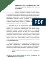 Proyecto Saneamiento Fisico Legal y Estudio a Detalle Para La Obtencion Del Certificado de Defensa Civil Para El Institucion Educativa