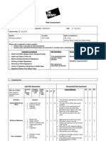 The Cockpit - Workshop Risk Assessment 2014
