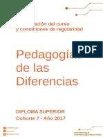 Condiciones Regularidad - PDD
