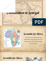 colonization of senegal