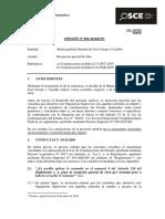069-16 - Mun.prov. Jose Crespo y Castillo -Recepción Parcial de Obra