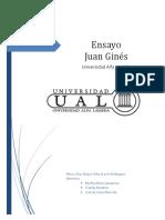 Actividad 1.- Ensayo Juan Ginés