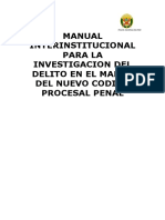 Nuevo Codigo Procesal Penal y Modelos de Actas