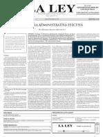 La tutela administrativa efectiva (Mu+¦oz)