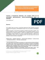 Muñiz Terra, Leticia. Carreras y trayectorias laborales: una revisión crítica de las principales aproximaciones teórico‐metodológicas para su abordaje