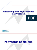 Metodologia de Mejora de Procesos. Los 7 Pasos ..ppt
