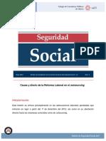 causa y efecto de la reforma laboral outssourcing.pdf