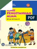 buku paket sd 6 ipa IPA Yayat Ibayati