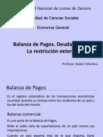 Deuda Externa-Restricción Externa