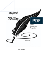 Report Writing _Project Management Perspective_Appendices_MP