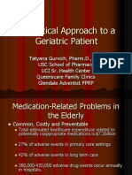 2015 a Practical Approach to Geriatric Patients