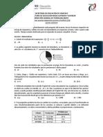 1er Examen Diagnóstico Previo a PLANEA 2018