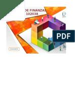 Trabajo Finanzas Plantilla de Mejoramiento Unidad 2 Fase 3