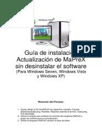 Guia DataLaing MaPreX Actualizacion Sin Desinstalar Para Windows Vista