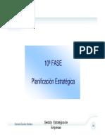 Planificacion Estrategica -FASE 10