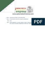 Pedro Pachaguaya; René Guery. Medio Ambiente, Cultura, Género, Poder y Conflicto en La Gestión Del Agua en Cuidades Intermedias. Corico y Copacabana