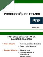 Producción de Azúcar y Alcohol
