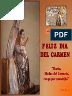 Felicitación Virgen Del Carmen 2016