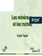 Mineraux Roches Ngolo Togola