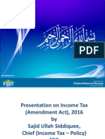 FBR Amendments IT Sajid PPT