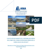 Plan de Aprovechamiento Quilca Chili 2016-2017