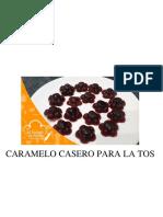Caramelo Casero Para La Tos