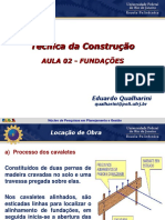 2ª Aula - Fundações - 2016.1